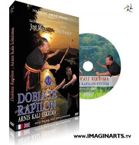 DVD Kali Arnis en vente sur Imagin Arts Tv