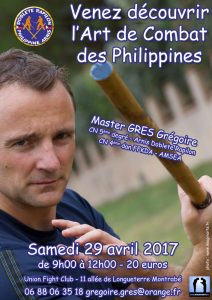 Stage Arnis Kali – Avril 2017 – Toulouse